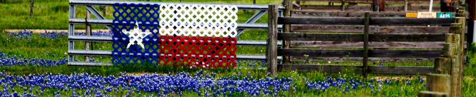 texas flag fence